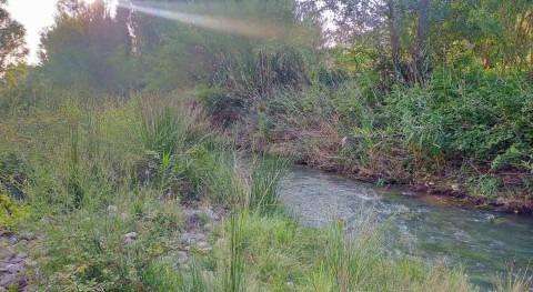 Iniciados trabajos mejora dinámica fluvial río Martín, Teruel