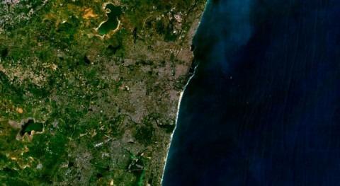 embalses se quedan agua Chennai, India