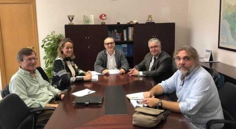 CHG busca solución al conflicto competencias gestión parque Riopudio