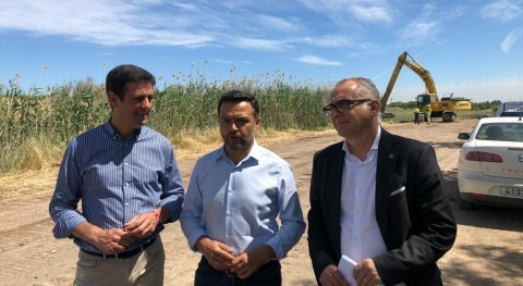 CHG anuncia próxima limpieza Caño Palmilla, Cabezas San Juan, Sevilla