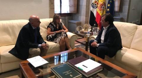 Confederación Guadiana aborda proyectos materia agua Extremadura