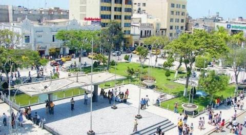 Parque principal de Chiclayo