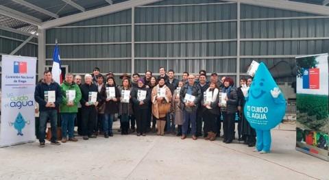 Chile promueve inversiones riego región Metropolitana
