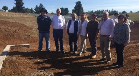 Chile constata terreno avance ejecución tranques riego Araucanía