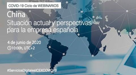Webinario China-Covid19: situación actual y perspectivas empresa española