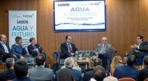 Presidente CHJ participa foro economía circular gestión agua