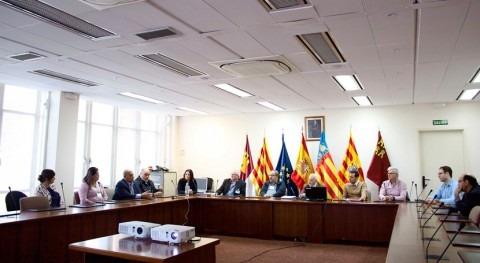 delegación municipios centroamericanos visita Confederación Hidrográfica Júcar