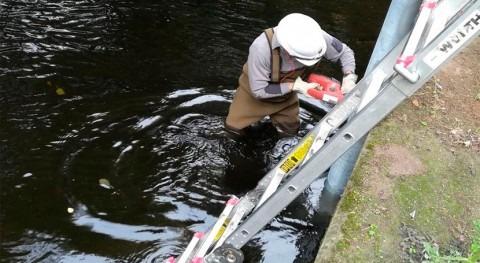 Finalizada construcción nuevo punto control calidad aguas río Arenteiro