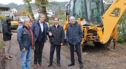 CH Miño-Sil avanza construcción senda fluvial margen derecha Avia