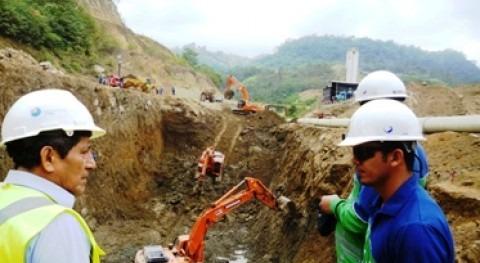 Comienzan trabajos obras hidráulicas construcción Multipropósito Chone