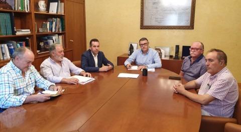 CHS, alcalde Abanilla y comunidad regantes Porvenir estudian mejoras hídricas
