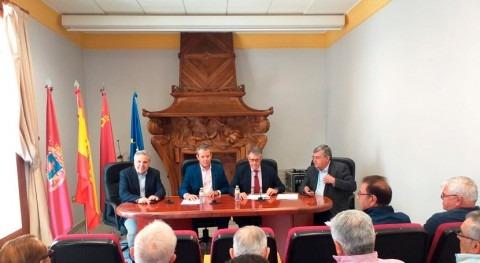 Mario Urrea acude concesión 2,4 hm³ desaladora Águilas regantes Lorca