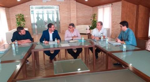 CHS estudia Alcázares actuaciones frente inundaciones