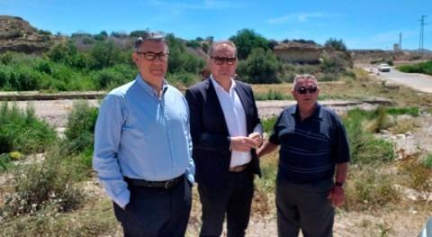 Mario Urrea visita trabajos que se están llevando cabo Cuevas Almanzora