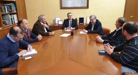 CHS y COAG analizan situación gestión recursos hídricos Campo Cartagena