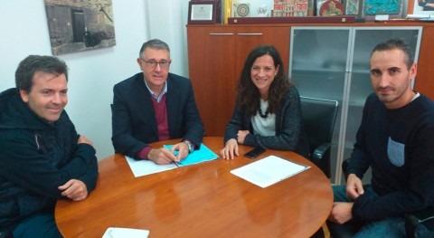 presidente CHS trata alcaldesa Elche Sierra transformación regadío