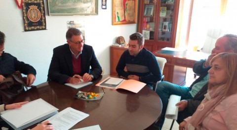 presidente CHS analiza arreglo caminos, regadíos y pasos agua Férez