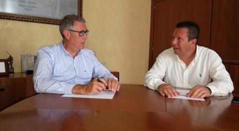 CHS realiza seguimiento restauración río Mula junto al alcalde municipio