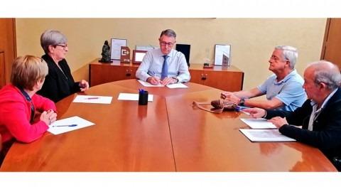 presidente CHS, Mario Urrea, se reúne plataforma Pacto Mar Menor
