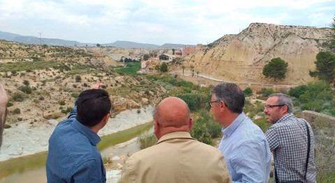 Confederación Segura recuperará cauce río Mula