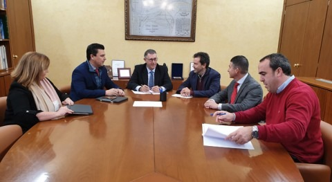 CHS y Ayuntamiento San Javier estudian medidas hacer frente inundaciones