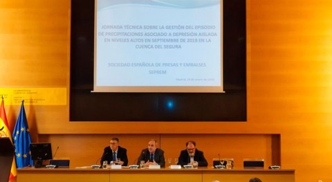 CHS y SEPREM organizan jornada técnica DANA Cuenca Segura