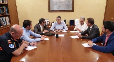 CHS analiza afecciones últimas lluvias Torre Pacheco y Alcázares