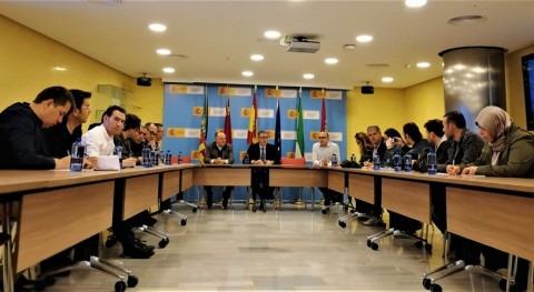 delegación Turquía visita CHS estudiar gestión agua sureste España