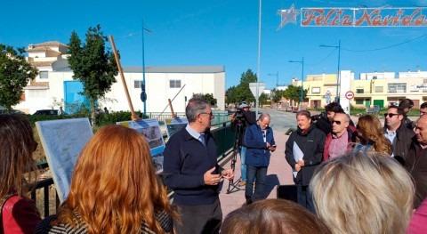 Mario Urrea visita Vega Baja junto expertos inundaciones analizar DANA