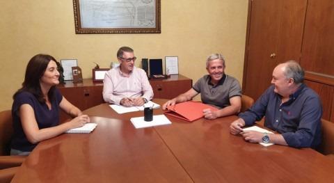 presidente CHS estudia alcalde Pilar Horadada estado cauces