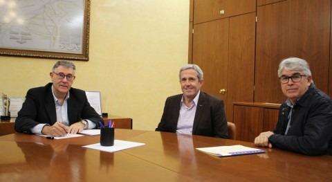 CHS se reúne alcalde Pilar Horadada tratar diversos temas interés