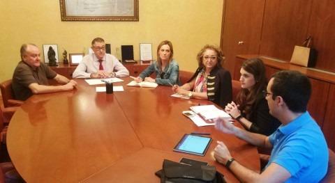 Mario Urrea y alcaldesa Torres Cotillas tratan problema vertidos Segura