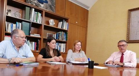Mario Urrea se reúne alcaldesa San Pedro Pinatar conocer efectos DANA