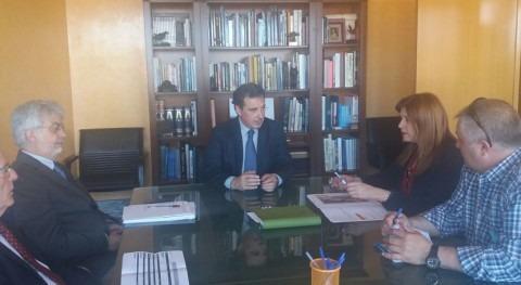 CHT trata asuntos gestión agua y DPH Santa María Alameda