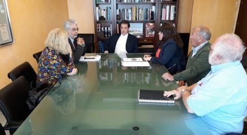 gestión DPH Cenicientos, centra última reunión CHT ayuntamiento