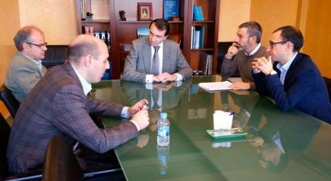 mejora abastecimiento Alberca centra reunión alcalde y CHTajo