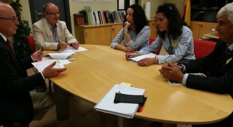 CHT dialoga mejora abastecimiento y depuración Navalmoral Sierra