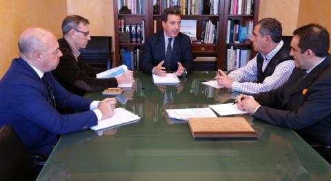 CHT se reúne Gobierno Castilla- Mancha marco Pacto Nacional Agua