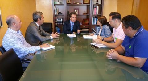 CHT estudia mejora sistema abastecimiento Arroyo Luz