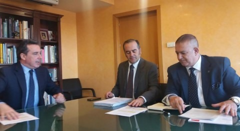 presidente CHT se reúne delegado Gobierno Castilla Mancha