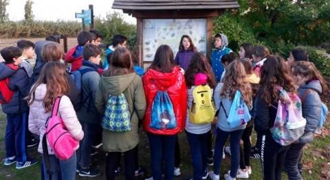 programa educación ambiental CHT continúa recibiendo alumnos talleres