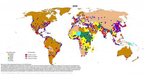 Seguridad hídrica grandes urbes