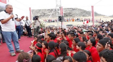 primera ciudad planificada Perú se construirá terrenos adyacentes al Proyecto Irrigaciónen Olmos