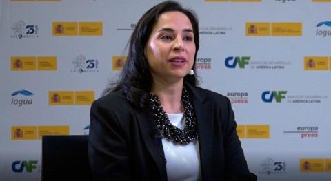 """Claudia Crosa: """" Latinoamérica tenemos mucho que aprender gestión agua España"""""""