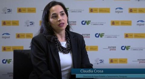 """C. Crosa: """" retos hídricos América Latina tienen que ver ODS y gobernabilidad"""""""