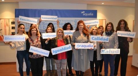 Aqualia clausura tercer programa mentoring Jerez presencia alcaldesa