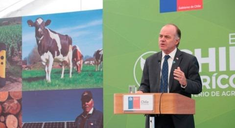 Chile aumenta recursos otorgar mayor disponibilidad agua riego