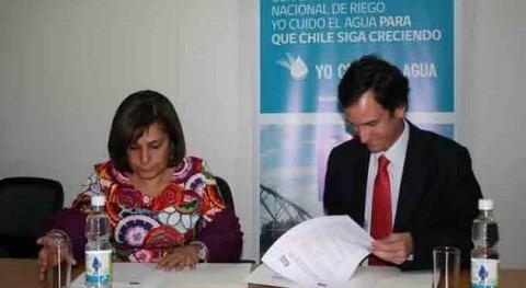 Comisión Nacional Riego firma acuerdo colaboración Instituto Interamericano Cooperación Agricultura