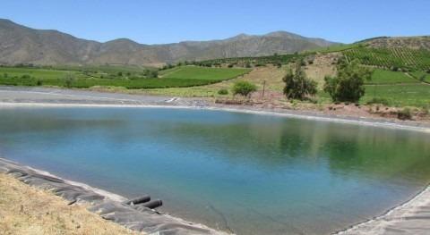 regantes Atacama y Coquimbo podrán presentar proyectos acumulación e infiltración