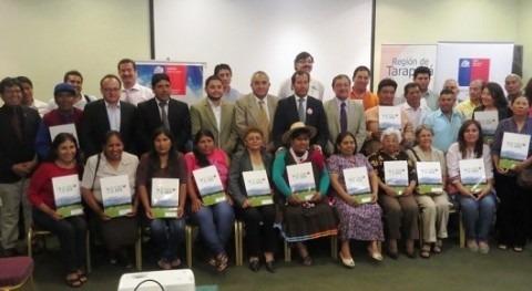 CNR y Gobierno Taracapá entregan 2 millones dólares regantes afectados terremoto